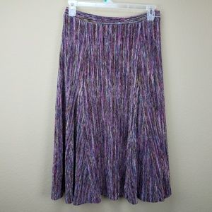 Anthropologie Maeve Wynne Knit midi skirt sz L